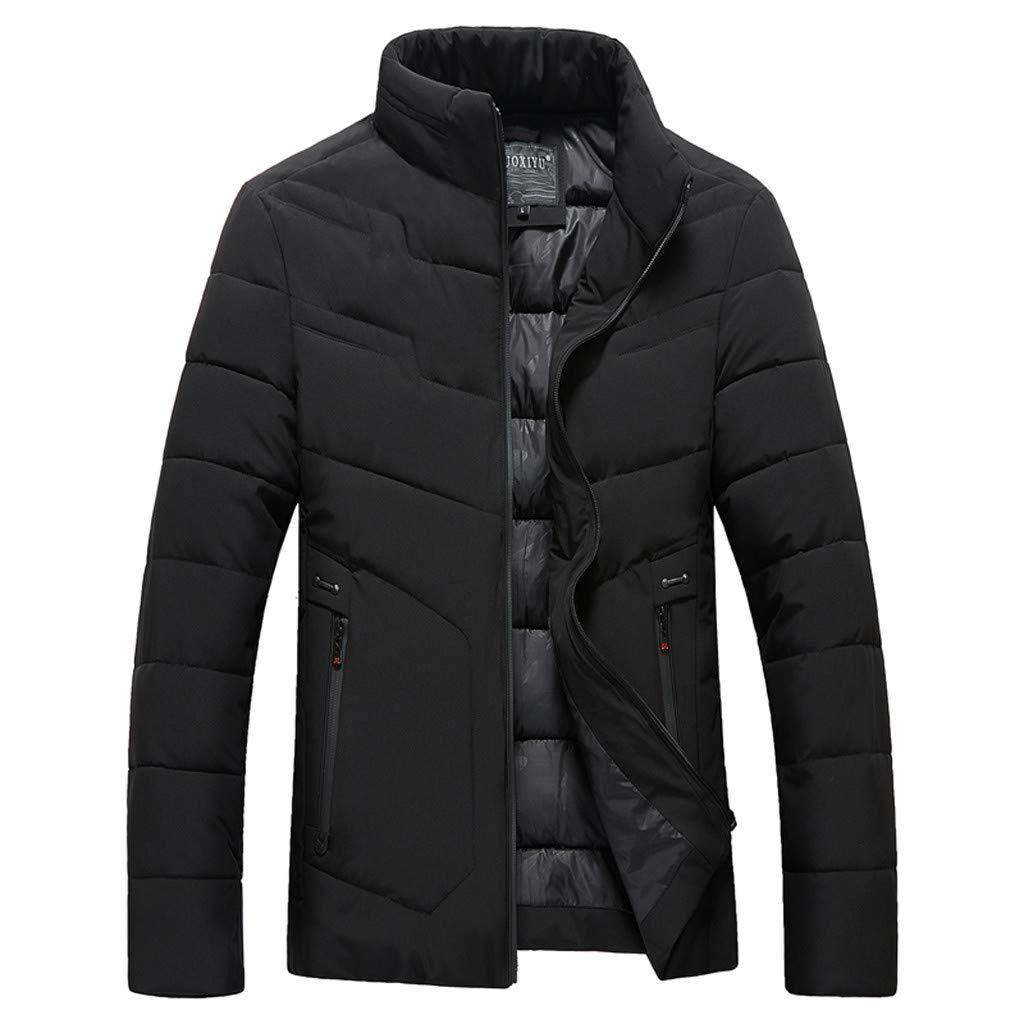 ChallengE Giacca Giubbotto Uomo Invernale Eleganti Giacche e Cappotti Cappotto A Maniche Lunghe da Moto Parka Giubbini Pullover Top Autunno Inverno Men Jacket