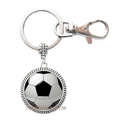 Llavero de fútbol, llavero de balón de fútbol, llavero ...