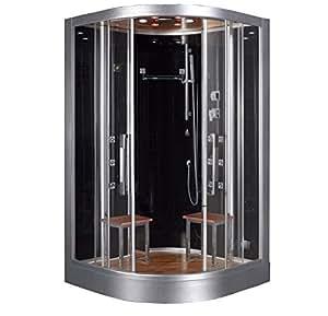 DZ962F8 Platinum Steam Shower Sauna Enclosure Jetted Spa
