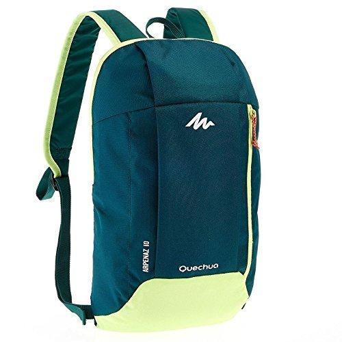 Quechua Arpenaz Wandern bag-10Ltr (Kleine Größe Tasche, nicht gedacht für Durchführung Laptop) grün