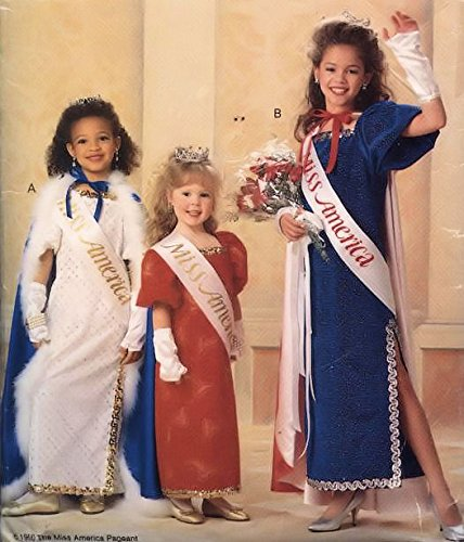 Butterick sewing pattern 5015 girls' Miss America