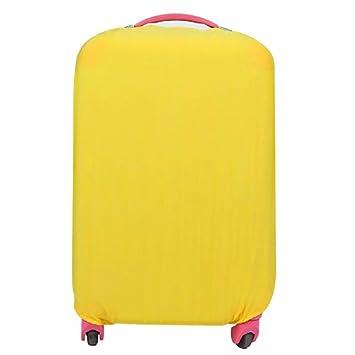 VANKER Funda para Maletas de Viaje de Viaje Funda para Maletas elásticas de protección (Amarillo - M): Amazon.es: Hogar
