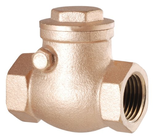 0.5' Ips Brass Pipe (LDR 022 1243 1/2-Inch Swing Check Valve, Lead Free Brass)