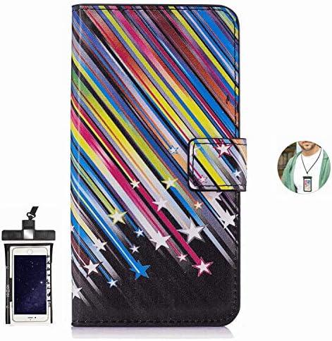 耐汚れ 耐摩擦 Samsung Galaxy A7 ケース 手帳型 本革 レザー カバー 財布型 スタンド機能 カードポケット 耐摩擦 全面保護 人気 アイフォン[無料付防水ポーチケース]