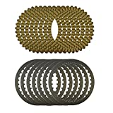AHL Motorcycle Clutch Friction Plates & Steel Plates Kit for XL883 XL1200 Sportster 1991-2011