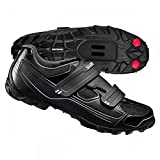 Shimano SH-M065 Cycling Shoe - Men's Black, 46.0