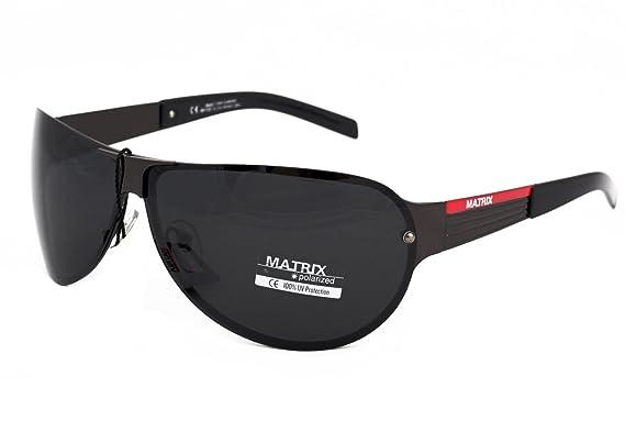 9b896bb826 Pilot-Aviator Design Matrix Polarized Sunglasses for Driving ...