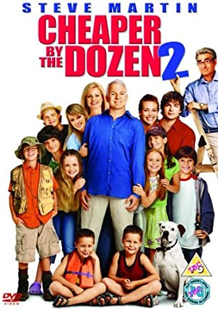 Cheaper By The Dozen 2 Dvd Amazon Co Uk Steve Martin Bonnie Hunt Eugene Levy Hilary Duff Adam Shankman Steve Martin Bonnie Hunt Dvd Blu Ray