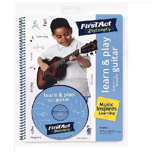 Read Online First Act Discovery: Learn & Play Guitar Book (w/CD) pdf