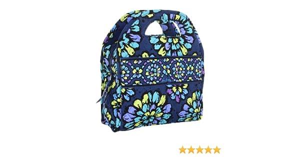 d051416ce2e Amazon.com - Vera Bradley Lunch Tote Indigo Pop - Reusable Lunch Bags
