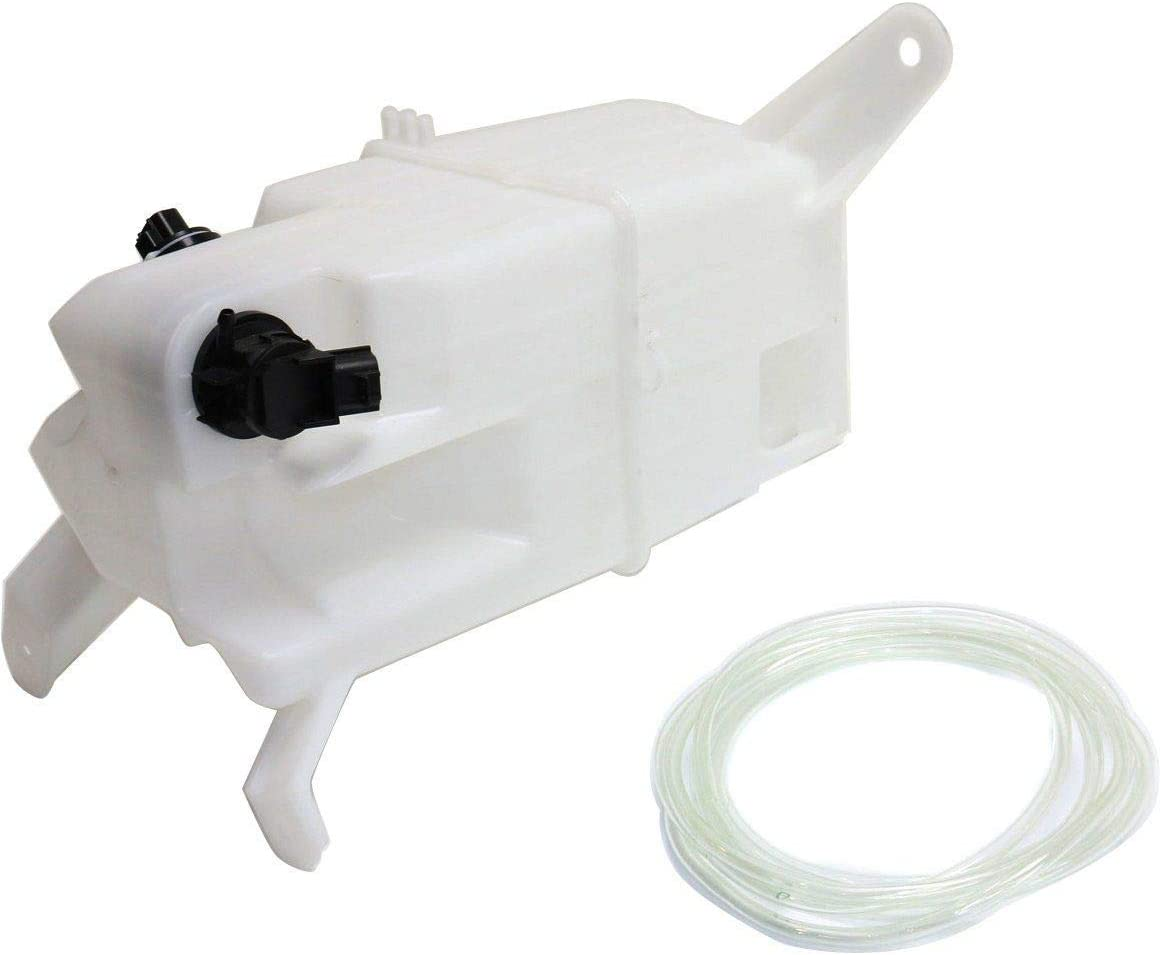 With Cap New Washer Fluid Reservoir For 2007-2018 Toyota Tundra Pump /& Sensor TO1288192 853150C060