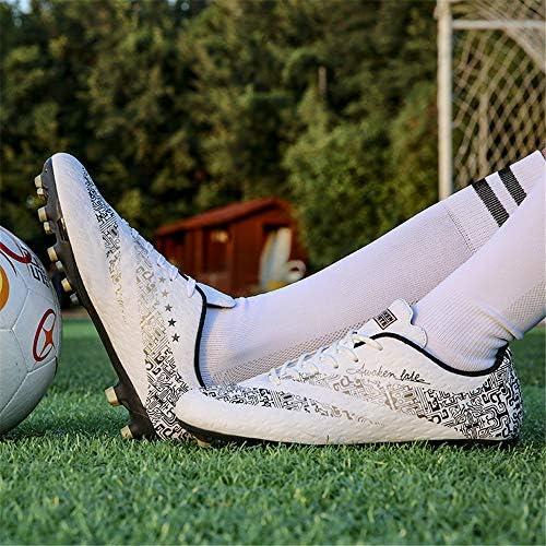サッカーシューズ、AGロングネイルグラス大人の子供サッカーシューズ、室内ウェアの耐久性プロトレーニングサッカーシューズ
