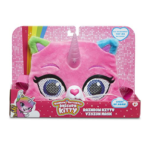 RBUK Rainbow Butterfly Unicorn Kitty Vision Mask, Multi Colered - http://coolthings.us