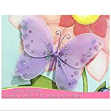 """Hanging Butterfly X-Large 18"""" Pink Twinkle Nylon"""