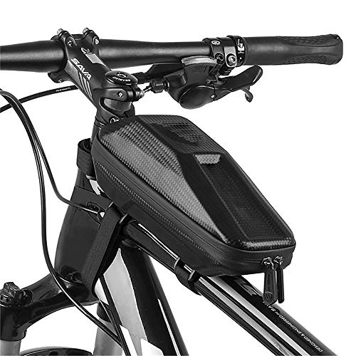 GZQ Bike Bag Bicycle Front Top Tube Saddle Storage Pouch for Smartphone Mobile Phone, iPod, MP3, GPS Holder