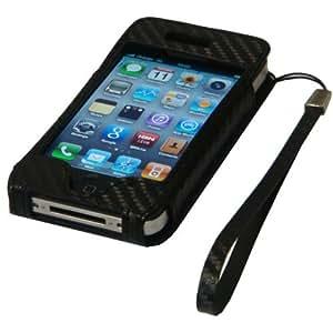 Groov-e Leather - Funda para iPod touch 4.ª generación con protector de pantalla y gamuza limpiadora