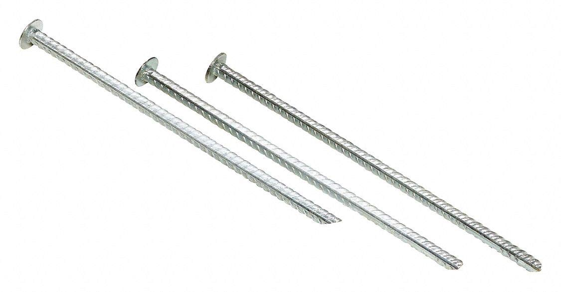 Rebar Spikes, For Use With Parking Stop, Speed Bump pack of 5