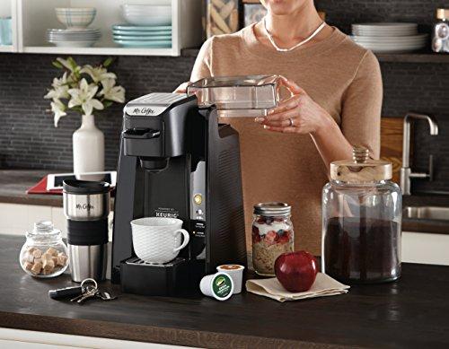 Mr. Coffee BVMC-SC500-1 Single K-Cup Brewing System, 24 oz, Black by Mr. Coffee (Image #4)