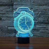 JRZ t¨¢ctil reloj oscurecimiento 3d llev¨® la luz