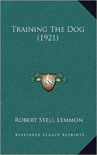 Book Training the Dog (1921)