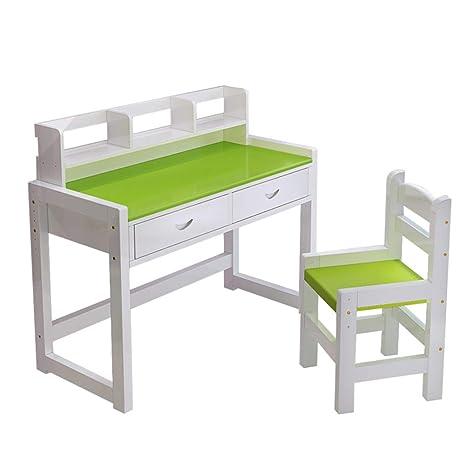 Amazon.com: Juego de mesa y silla de estudio Xing Hua Shop ...