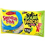 SOUR PATCH KIDS Candy and SWEDISH FISH Candy