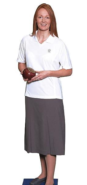 Taylor - Polo deportivo para mujeres, color blanco Talla:xx-large ...