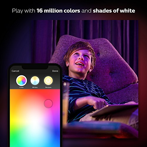 Philips Hue White and Color Ambiance PAR16 Dimmable LED Smart Spot Light (Works with Alexa Apple HomeKit and Google Assistant) by Philips (Image #2)