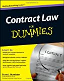 Contract Law for Dummies, Consumer Dummies Staff and Scott J. Burnham, 1118092732