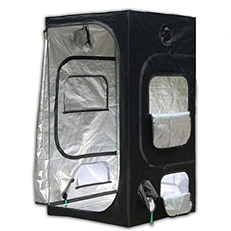 Oasis 3u0027 x 3u0027 Reflective Hydroponic Light Proof Grow Tent  sc 1 st  Amazon.com & Amazon.com: Oasis 3u0027 x 3u0027 Reflective Hydroponic Light Proof Grow ...