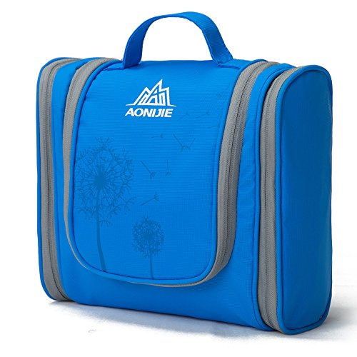 aomagic-large-capacity-travel-cosmetic-bag-shaving-bag-on-a-business-trip-blue