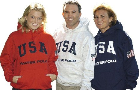 USA Water Polo Hooded Naval forces SweatShirt