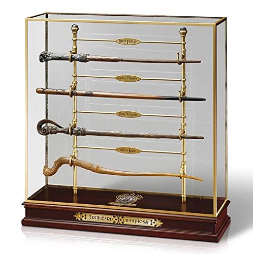 Noble Collection NN7008 - Harry Potter Espositore Campioni del Torneo Tremaghi con Bacchette 812370010295