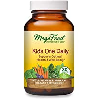MegaFood, Kids One Daily, Daily Multivitamin and Mineral Dietary Supplement with Vitamins, C, D and Folate, Non-GMO…