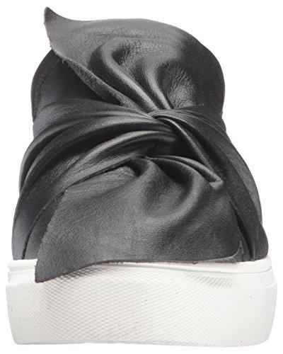 Steven By Steve Madden Baskets Femme Mode Noir Cuir Noir
