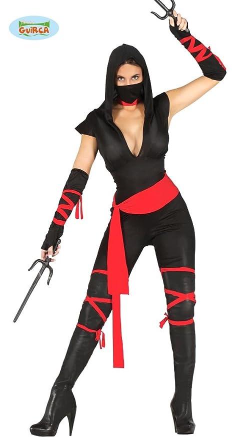 Guirca 80794 - Black Ninja Adulta Talla M 38-40