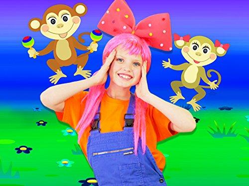 Five Little Monkeys - Baby Nursery Rhymes