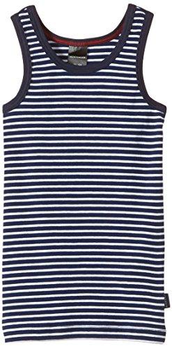 Schiesser, Jungen Unterhemd 0/0, Blau (dunkelblau 803), Gr. 140 (Herstellergröße: 8-9 Jahre)