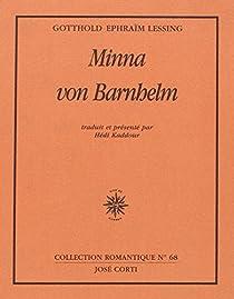 Minna von Barnhelm par Lessing