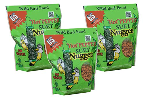 C&S Hot Pepper Suet Nuggets (81 ounces) ()