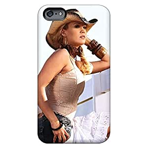 iphone 4 /4s High Grade mobile phone carrying cases New Arrival Impact carrie underwood cowgirl