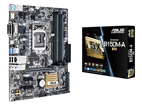 ASUS-B150M-AM2-LGA1151-DDR4-M2-HDMI-DVI-USB30-B150-MicroATX-Motherboard-DIMM-LGA-1150-Motherboards