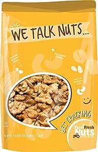 WALNUTS Raw Shelled California - Great Source of Omega 3 - Super Crunchy (2 Lb) - Farm Fresh Nuts Brand.