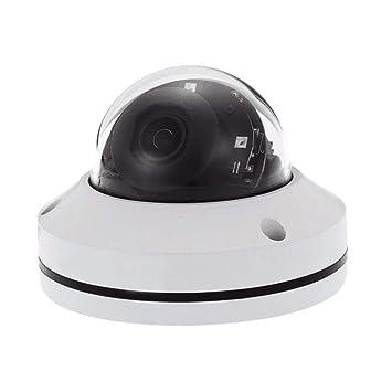 Globalqi Camara de vigilancia IP Domo Camara HD 1080p PTZ Al Aire Libre PoE Seguridad con