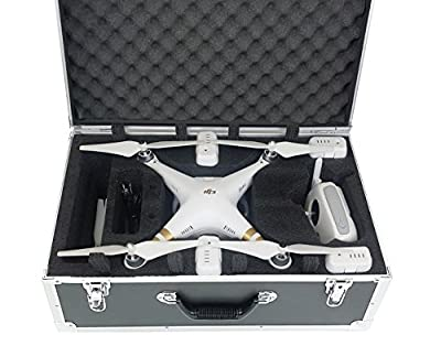 Carrying Case for DJI Phantom 3 Advanced or Professional Quadcopter Black