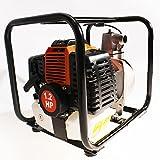 Arebos-Wasserpumpe-Benzin-Motor-Pumpe-Kreiselpumpe-Motorpumpe-Teich-Gartenpumpe-NEU