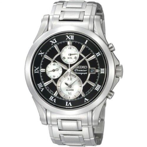 Seiko SNAD27P1 - Reloj cronógrafo automático para hombre: Amazon.es: Relojes