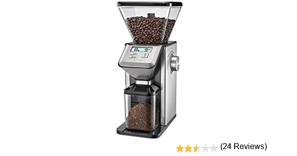 Silver CUISINART CBM-20C Deluxe Conical Burr Mill Grinder