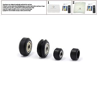 Poleas de rueda de plástico POM para modelos pequeños y grandes de ...
