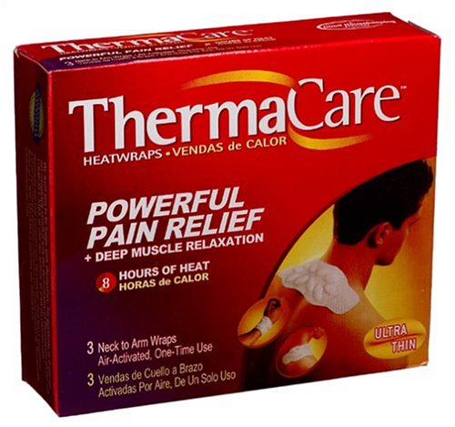 (ThermaCare Air-Activated Neck to Arm Heatwraps, 3-Count Boxes (Pack of)